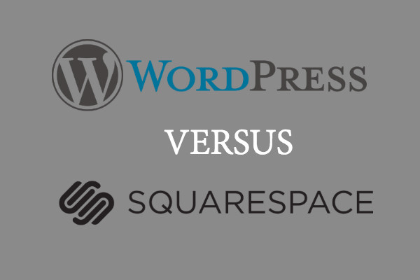wordpress squarespace private practice web design